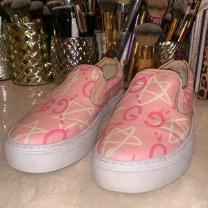 Gucci Dublin ghost leather slip-on sneaker